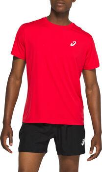 Asics Silver T-Shirt Herren rot