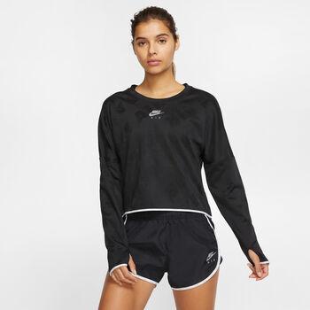 Nike Air Langarmshirt Damen schwarz