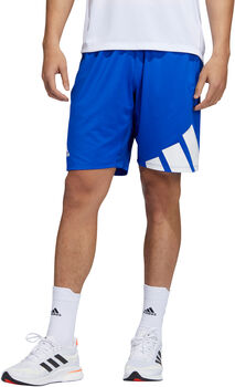 adidas 3 Bar Shorts Herren blau