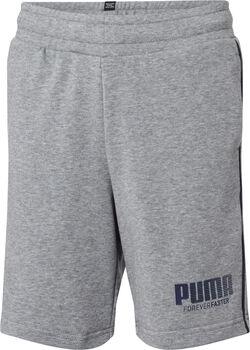 Puma Sweat Short Jungen grau