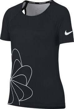 Nike Nk Top SS Run Gx Shirt schwarz