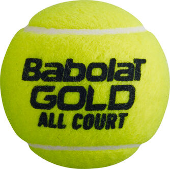 Gold AllCourt 4er Dose Tennisbälle