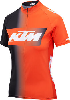 KTM Lady Line Da. Radtrikot Damen schwarz