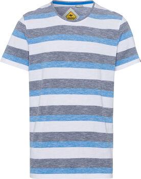 Roadsign Swan River Stripes T-Shirt Herren cremefarben