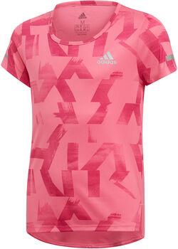 ADIDAS YG TR Run kurzarm Shirt pink