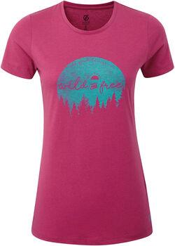 Dare 2b Ease Of Mind T-Shirt Damen pink