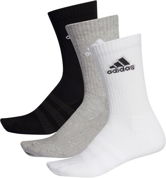 ADIDAS Cushioned Crew Socken 3er Pack grau