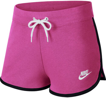 Nike Nsw Hrtg Short Flc Short Damen pink