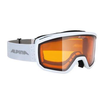 ALPINA Scarabeo S DH Skibrille weiß