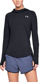 Under Armour STREAKER 2.0 Hoodie Damen schwarz