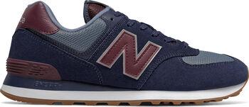 New Balance 574 Freizeitschuhe Herren blau