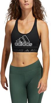 adidas DRST BOS Sport-BH Damen schwarz