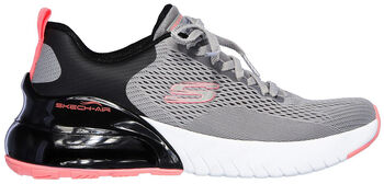 Skechers Skech-Air Stratus Wind Breeze Fitnessschuhe Damen grau
