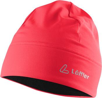 LÖFFLER Mono Mütze pink