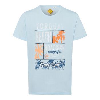 Roadsign Toroquay Beach T-Shirt Herren blau