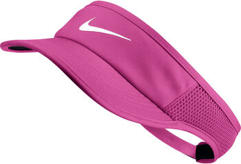 Nike Court AeroBill Featherlight Visor Damen pink