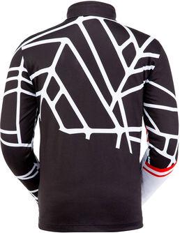 Vital Langarmshirt mit Halfzip