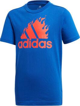 adidas Graphic T-Shirt blau
