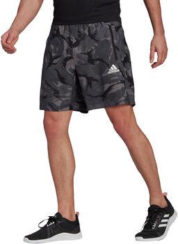 adidas Designed To Move Camouflage Aeroready Shorts Herren grau