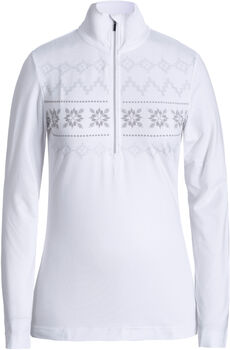 Luhta rsb Langarmshirt mit Halfzipp Damen weiß