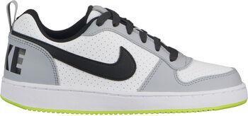 Nike Court Borough Low Freizeitschuhe Jungen weiß