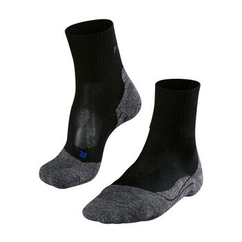 Falke TK 2 Short Cool Wandersocken Damen schwarz