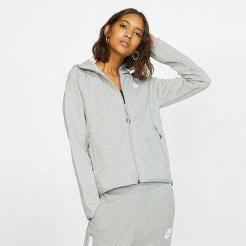 Nike Sportswear Tech Fleece Kapuzenjacke Damen grau