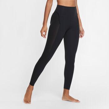 Nike Stmt Cln 7/8 Tights Damen schwarz