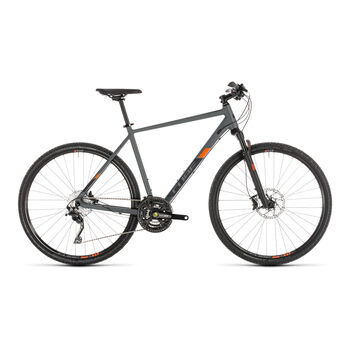 "CUBE Cross EXC Crossbike 28"" Herren grau"