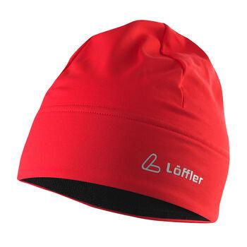 LÖFFLER Mono TVL Mütze rot