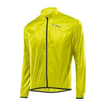 LÖFFLER Windshell Bike-Jacke Herren gelb