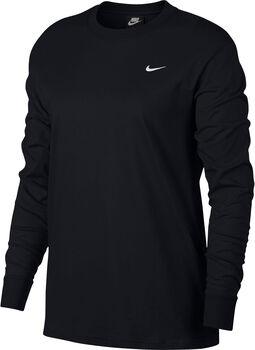 Nike Nsw Essntl Top LS Damen schwarz