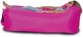 Happy People Lounger To Go Aufblassofa pink
