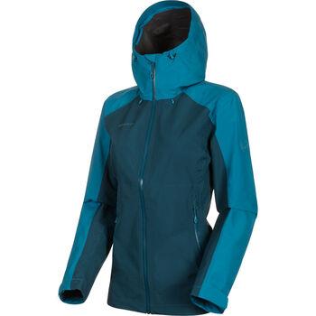 MAMMUT Convey Tour Hardshell Jacke Damen blau