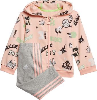 adidas  I GRAP FZ HD FTKl.Kd. Jogginganzug pink