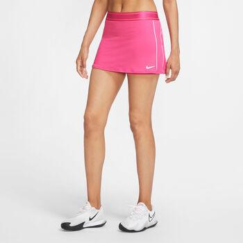 Nike Court Dri-Fit Tennisrock Damen pink