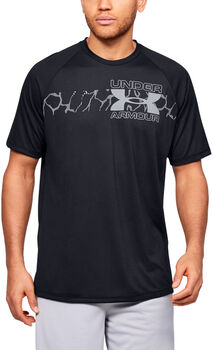 Under Armour Tech 2.0 Graphic T-Shirt Herren schwarz