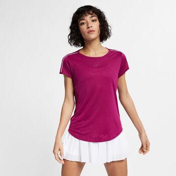 Nike Dry Top Tennisshirt Damen pink