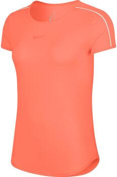 Nike Dry Top Tennisshirt Damen orange