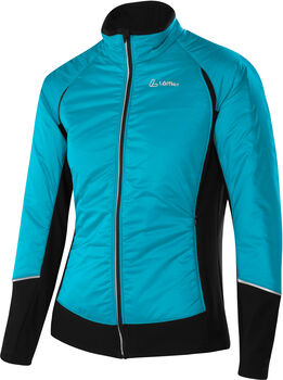 LÖFFLER Hybrid Langlaufjacke Damen blau
