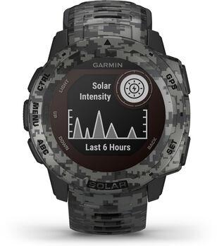 Garmin Instinct Solar Multisportuhr grau