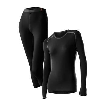 LÖFFLER Transtex® Warm Unterwäsche-Set Damen schwarz