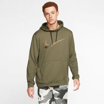Nike Dri-FIT Hoodie Herren grün