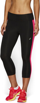 Asics 3/4 Tights Damen schwarz