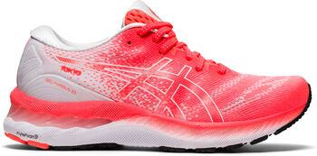 ASICS Gel-Nimbus 23 Laufschuhe Damen rot
