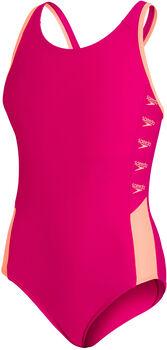 Speedo Boom Logo Splice Muscleback Badeanzug pink