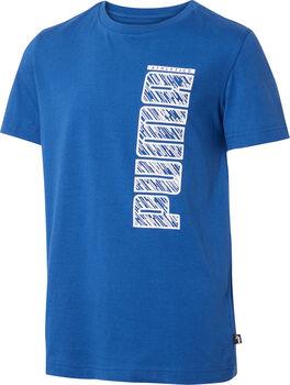 Puma T-Shirt Jungen blau