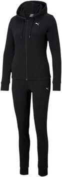 Puma Classic Trainingsanzug Damen schwarz