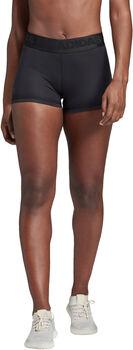 ADIDAS Alphaskin Sport kurze Tights Damen schwarz