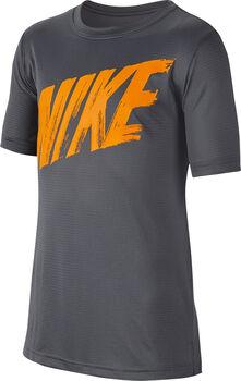 Nike Dry Top SS Shirt Herren grau